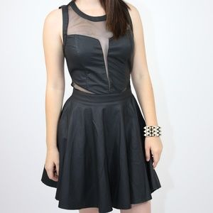 Sugarlips Sexy Sleeveless Skater Dress